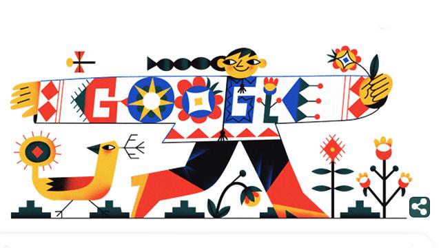 День вишиванки 2020: Google створив святковий дудл