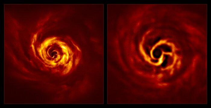 Телескоп снял зарождение планеты в 250 световых годах от Земли