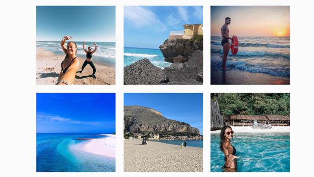 Instagram запретил пользователям смотреть на море