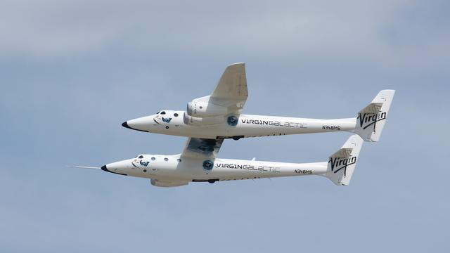 Акції Virgin Galactic здешевіли після успішного польоту ракети Blue Origin
