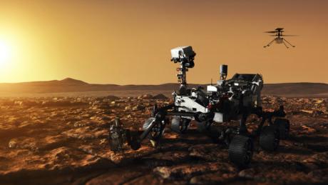 Perseverance удалось записать звуки на Марсе: мощный ветер и хруст грунта