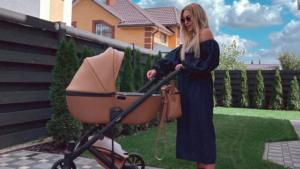 Неудачная идея: Дашу Квиткову раскритиковали за танцы с полуторамесячным сыном