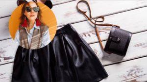 З чим носити шкіряну спідницю: ідеї стильних образів